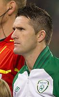 Fussball International, Nationalmannschaft   EURO 2012 Play Off, Qualifikation, Irland - Estland 15.11.2011 Robbie KEANE (IRL); Portrait