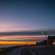 Today's quiet Winter Sunrise  at Narragansett Town Beach, Narragansett, RI,  January  21, 2013. Photo: Tripp Burman