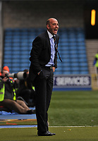 Photo: Tony Oudot/Richard Lane Photography. <br /> Millwall v Leeds United. Coca-Cola League One. 19/04/2008. <br /> Leeds manager Gary McAllister shouts instructions from the touchline