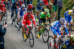 Peloton during the UCI WorldTour 103rd Liège-Bastogne-Liège from Liège to Ans with 258 km of racing at Cote de Pont, Belgium, 23 April 2017. Photo by Pim Nijland / PelotonPhotos.com | All photos usage must carry mandatory copyright credit (Peloton Photos | Pim Nijland)