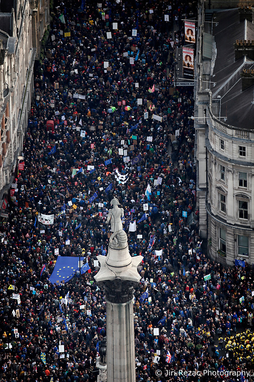 UK LONDON 23MAR19 - An estimated 1 million people take part in the People's Vote March in central London demanding a second referendum on the terms of Brexit.<br /> <br /> <br /> jre/Photo by Jiri Rezac/ Led By Donkeys