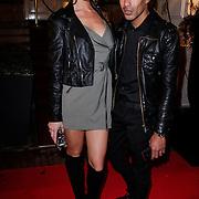 NLD/Amsterdam/20121112 - Beau Monde Awards 2012, Kim Feenstra en Giovanni Laisina