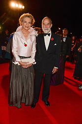 PRINCE & PRINCESS MICHAEL OF KENT at the Collars & Coats Gala Ball in aid of Battersea Dogs & Cats Home held at Battersea Evolution, Battersea Park, London on 7th November 2013.