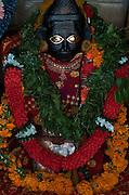 Mauritius. Statue at Kali Amma temple.