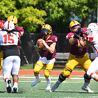 Football: Concordia University Chicago Cougars vs. Olivet College Comets at Concordia University Chicago River Forest IL. Credit Dean Reid