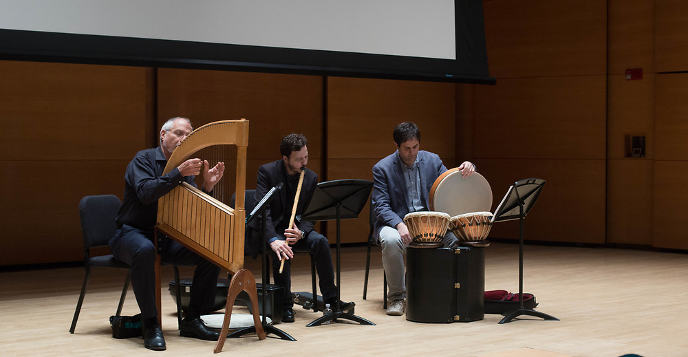 10/25/17 - Medford/Somerville, MA - Musicians play for Global Humanitarian Citizens Award, on Oct. 25, 2017. (Sophie Dolan / The Tufts Daily)