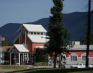 © 2008 Randy Vanderveen, all rights reserved.Tumbler Ridge, British Columbia.Town Hall in Tumbler Ridge B.C.