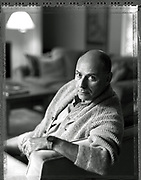 Portrait Alan Arkin at home New York