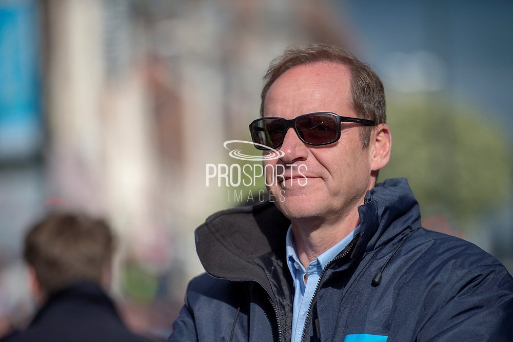 Christian Prudhomme during stage four of the Tour de Yorkshire from Halifax to Leeds, , United Kingdom on 4 May 2019.