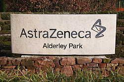 Astra Zeneca site entrance; Nether Alderley; Cheshire,