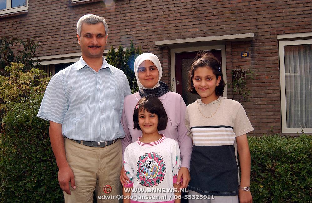 Fam. Hussein Huizen terug uit Irak