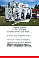 100-Mile Runner wall panel