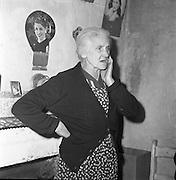 Limerick Widows Alms House. Mrs. Mary Kelly..28.03.1962