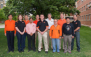 WIT, Wheat Improvement Team at Oklahoma State University Division of Agricultural Sciences and Natural Resources.<br /> Front row<br /> Liuling Yan, Carol Powers, Gopal Kakani, David Marburger, Ali Zarrabi, Xiangyang Xu<br /> <br /> Back row<br /> Charles Chen, me, Bob Hunger, Kris Giles, Brian Arnall