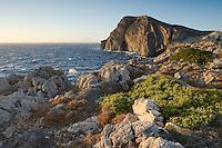 Mediterranean landscape, Antikythera island, Greece.