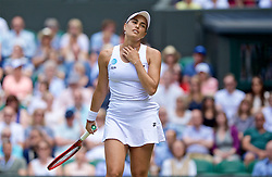 LONDON, ENGLAND - Wednesday, July 3, 2019: Monica Puig (PRI) during the Ladies' Singles second round match on Day Three of The Championships Wimbledon 2019 at the All England Lawn Tennis and Croquet Club. (Pic by Kirsten Holst/Propaganda)