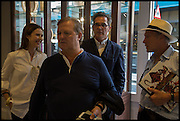 LOUISE OLSEN; TIM OLSEN; STEVE ORMANDY; NIC FIDDIAN-GREEN, Dinosaur Designs launch of their first European store in London. 35 Gt. Windmill St. 18 September 2014