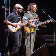 COLUMBIA, MD - May 14, 2015 - Aron Magner and Jon Gutwillig of Disco Biscuits perform during the Dear Jerry: Celebrating the Music of Jerry Garcia concert at Merriweather Post Pavilion in Columbia, MD. (Photo by Kyle Gustafson / For The Washington Post)