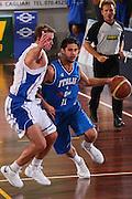 DESCRIZIONE : Cagliari Torneo Internazionale Sardegna a canestro Italia Estonia <br /> GIOCATORE : Luca Vitali <br /> SQUADRA : Nazionale Italia Uomini Italy <br /> EVENTO : Raduno Collegiale Nazionale Maschile <br /> GARA : Italia Estonia Italy Estonia <br /> DATA : 13/08/2008 <br /> CATEGORIA : Palleggio <br /> SPORT : Pallacanestro <br /> AUTORE : Agenzia Ciamillo-Castoria/S.Silvestri <br /> Galleria : Fip Nazionali 2008 <br /> Fotonotizia : Cagliari Torneo Internazionale Sardegna a canestro Italia Estonia <br /> Predefinita :