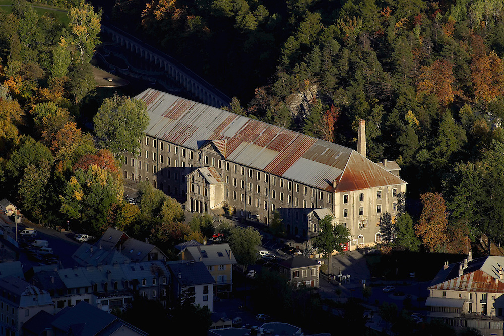 Usine De La Schappe, Briancon. Hautes Alpes, France