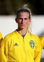 International Women's Friendly Matchs 2019 / <br /> Womens's Algarve Cup Tournament 2019 - <br /> Portugal v Sweden 2-1 ( Municipal Stadium - Albufeira,Portugal ) - <br /> Sofia Jakobsson of Sweden