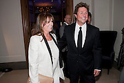 Michael Ball; Cathy McGowan, Piccadilly theatre's Ghost The Musical Opening night party. Corinthia Hotel. Whitehall Place. London. 19 July 2011. <br /> <br />  , -DO NOT ARCHIVE-© Copyright Photograph by Dafydd Jones. 248 Clapham Rd. London SW9 0PZ. Tel 0207 820 0771. www.dafjones.com.