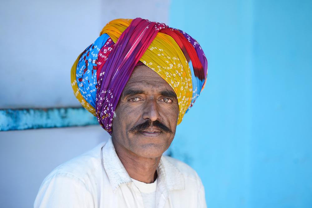 Village of Pachewar,Rajasthan,India,Asia