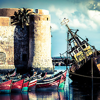 Where: El Jadida, Morocco.<br />