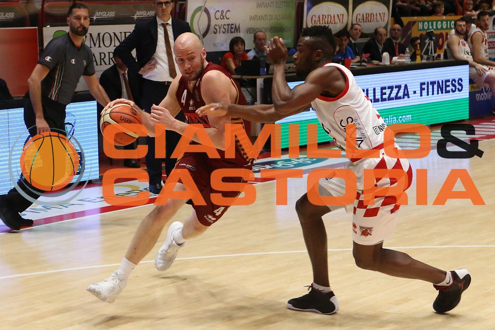 Hrvoje Peric<br /> UThe Flexx Pistoia vs Umana Reyer Venezia<br /> Lega A  2016/2017 Quarti di finale Gara 3<br /> Milano 17/05/2017<br /> Foto Ciamillo-Castoria<br /> Provvisorio
