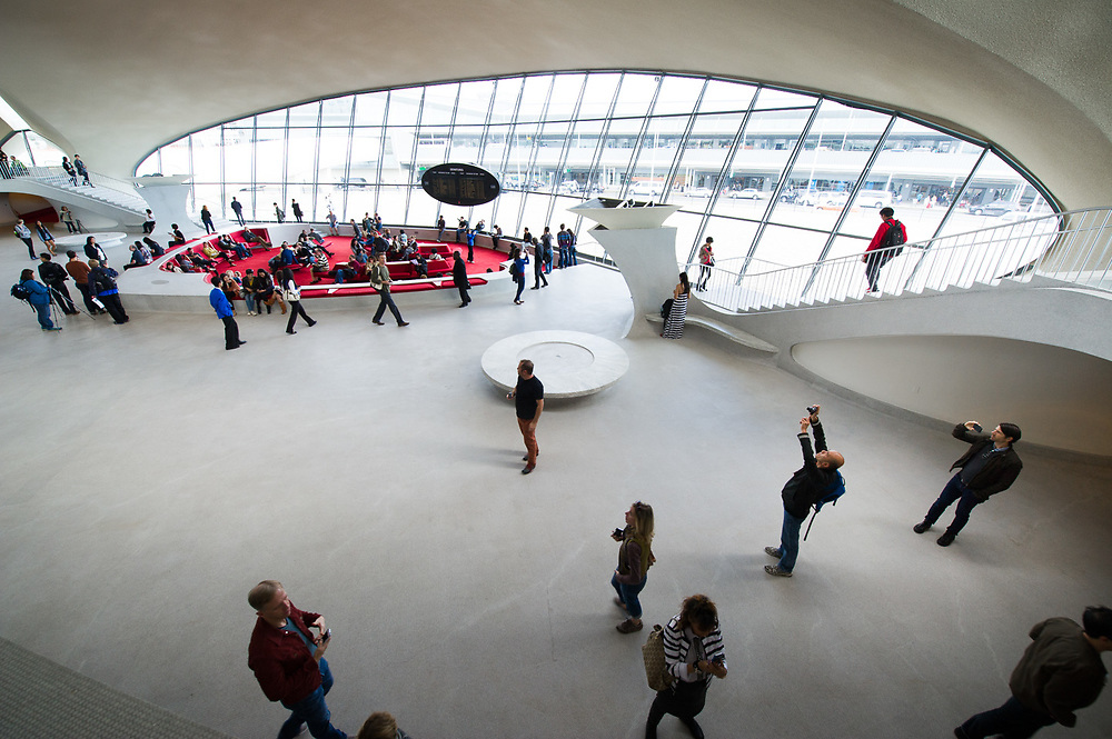 Eero Saarinen TWA Terminal at JFK