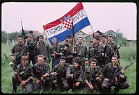 Croatian forces in Osijek and Vukovar during the 1991-92 war with Serbia that saw the break-up of the former Yugoslav republic.