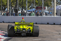 March 8, 2019 - St. Petersburg, Florida, U.S. - SIMON PAGENAUD (22) of France goes through the turns during practice for the Firestone Grand Prix of St. Petersburg at Temporary Waterfront Street Course in St. Petersburg, Florida. (Credit Image: © Walter G Arce Sr Asp Inc/ASP)