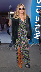 Model Abbey Clancy attends the Topshop Unique Show during London Fashion Week Spring Summer 2015 in London, UK. 14/09/2014<br />BYLINE MUST READ : GOTCHAIMAGES.COM<br /><br />Copyright by © Gotcha Images Ltd. All rights reserved.<br />Usage of this image is conditional upon the acceptance <br />of Gotcha Images Ltd, terms and conditions available at<br />www.gotchaimages.com