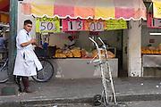 Mexico city. Calle Aranda.