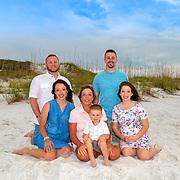 Barton (Lori) Family Beach Photos