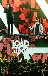 07.11.2015, Kaprun, AUT, WOW Glacier Love Festival, im Bild Loadstar, Xample & Lomax // Loadstar, Xample & Lomax on the Mainstage during the WOW Glacier Love Winter Opening Festival in Kaprun, Austria on 2015/11/07. EXPA Pictures © 2015, PhotoCredit: EXPA/ JFK