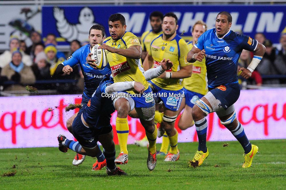 Wesley Fofana - 20.12.2014 - Clermont / Castres - 13eme journee de Top 14 -<br />Photo : Jean Paul Thomas / Icon Sport