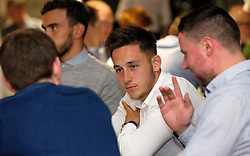 Josh Brownhill of Bristol City mingles with guests during the Lansdown Club event - Mandatory by-line: Robbie Stephenson/JMP - 06/09/2016 - GENERAL SPORT - Ashton Gate - Bristol, England - Lansdown Club -