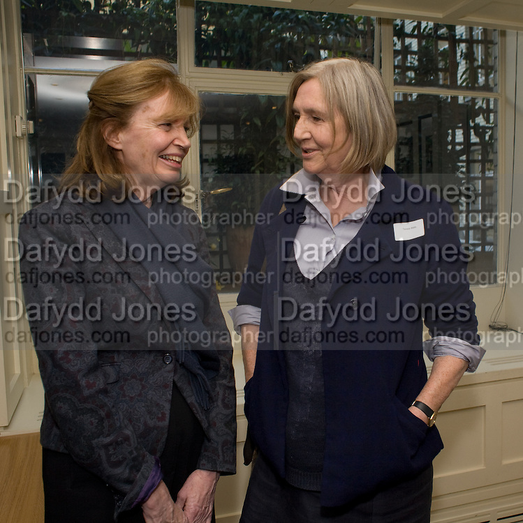 the countess of snowdon; theresa wells, Grandmothers United for ASAP. Vogue House. Hanover Sq. London. 22 October 2008 *** Local Caption *** -DO NOT ARCHIVE -Copyright Photograph by Dafydd Jones. 248 Clapham Rd. London SW9 0PZ. Tel 0207 820 0771. www.dafjones.com
