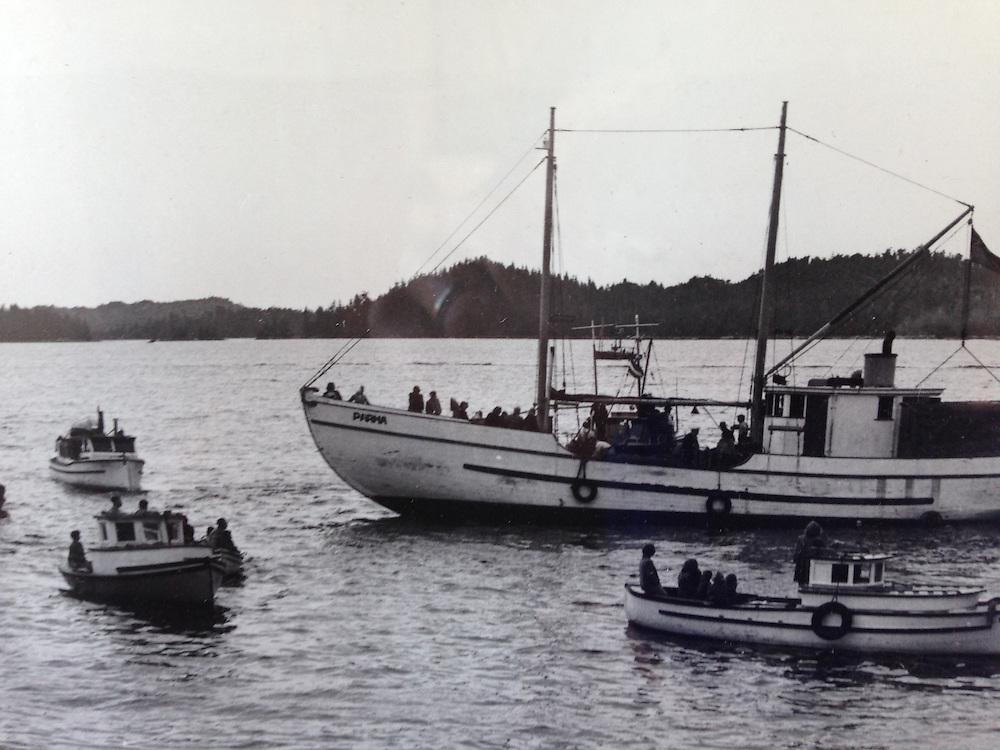 Photograph of Parma, SV Maple Leaf, Gulf Islands, British Columbia, Canada