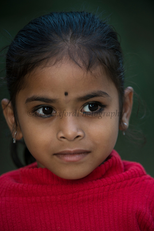 Assamese child<br /> Assam<br /> North East India<br /> UNESCO World Heritage Site
