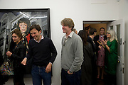 MARK GETTY, Cindy Sherman exhibition. Spruth Magers, London. Grafton st. London. Afterwards at Bellamy's, Bruton Place. 15 April 2009.  *** Local Caption *** -DO NOT ARCHIVE-© Copyright Photograph by Dafydd Jones. 248 Clapham Rd. London SW9 0PZ. Tel 0207 820 0771. www.dafjones.com.<br /> MARK GETTY, Cindy Sherman exhibition. Spruth Magers, London. Grafton st. London. Afterwards at Bellamy's, Bruton Place. 15 April 2009.