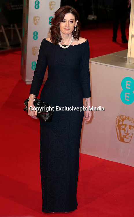 Feb 8, 2015 - EE British Academy Film Awards 2015 - Red Carpet Arrivals at Royal Opera House<br /> <br /> Pictured: Amanda Berry<br /> ©Exclusivepix Media
