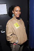 New York, NY- December 5: Recording Artist/Producer Amatus Sami backstage at the Science of Addiction Tour 2011 AD featuring Erykah Badu and the Cannibinoids with Theophilus London held at the Best Buy Theater on December 5, 2011 in New York City. Photo credit: Terrence Jennings