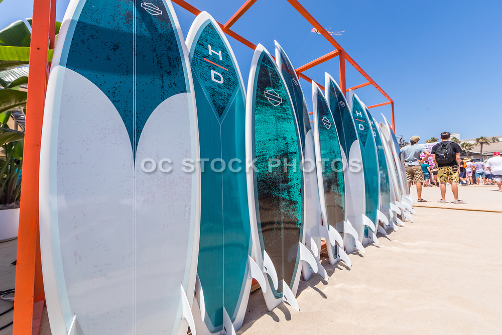 Surf Board Rentals on the Beach in Huntington Beach