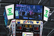 KELOWNA, CANADA - FEBRUARY 02:  Skip the Dishes at the Kelowna Rockets game on February 02, 2018 at Prospera Place in Kelowna, British Columbia, Canada.  (Photo By Cindy Rogers/Nyasa Photography,  *** Local Caption ***