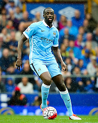 Yaya Toure of Manchester City  - Mandatory byline: Matt McNulty/JMP - 07966386802 - 23/08/2015 - FOOTBALL - Goodison Park -Everton,England - Everton v Manchester City - Barclays Premier League