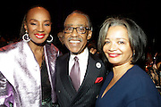 January 30, 2017-New York, New York-United States: (L-R) Susan L. Taylor, Founder, National CARES Mentoring Movement, Rev. al Sharpton, Founder & President National Action Network and Jonelle Procope, President & CEO, The Apollo Theater Foundation attend the National Cares Mentoring Movement 'For the Love of Our Children Gala' held at Cipriani 42nd Street on January 30, 2017 in New York City. The National CARES Mentoring Movement seeks to dispel that notion by providing young people with role models who will play an active role in helping to shape their development.(Terrence Jennings/terrencejennings.com)