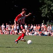 Oefenpartij FC Baarn - PSV, Luc Nilis
