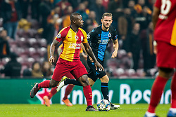 November 26, 2019, Galatasaray, Turkey: Galatasaray's Jean Michael Seri and Club's Mats Rits fight for the ball during a game between Turkish club Galatasaray and Belgian soccer team Club Brugge, Tuesday 26 November 2019 in Istanbul, Turkey, fifth match in Group A of the UEFA Champions League. (Credit Image: © Bruno Fahy/Belga via ZUMA Press)
